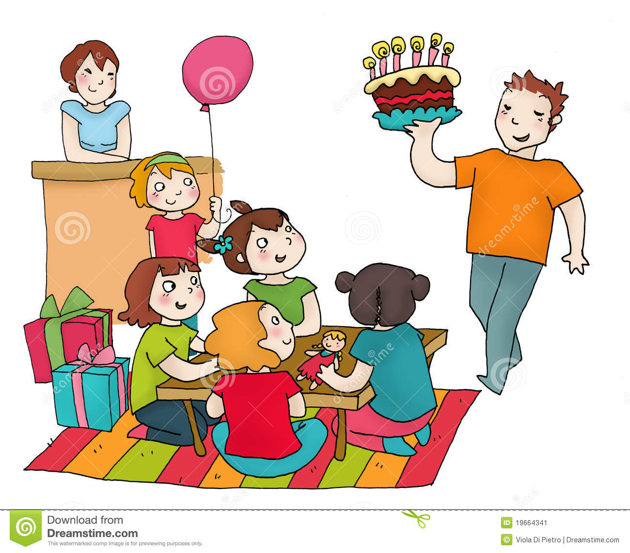 birthday clipart for friend ; party-clipart-friend-party-15