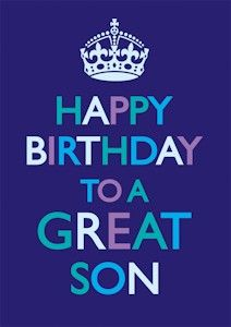 birthday clipart for son ; 395300