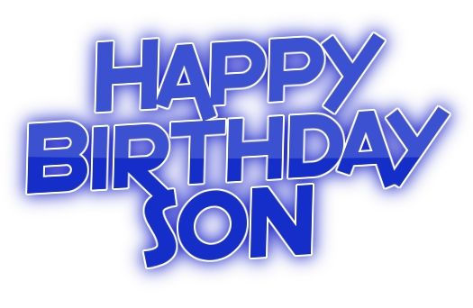 birthday clipart for son ; 395308