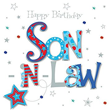 birthday clipart for son ; 51EvuV4fv1L