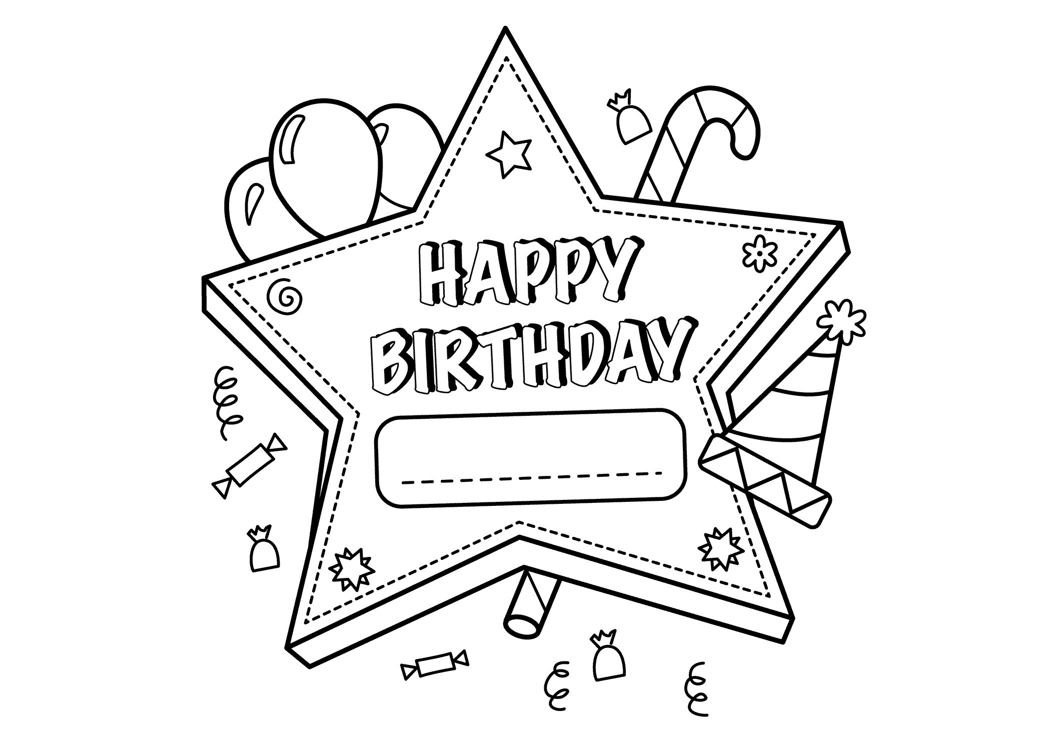 birthday coloring pages for boys ; Happy-birthday-coloring-pages-for-boys