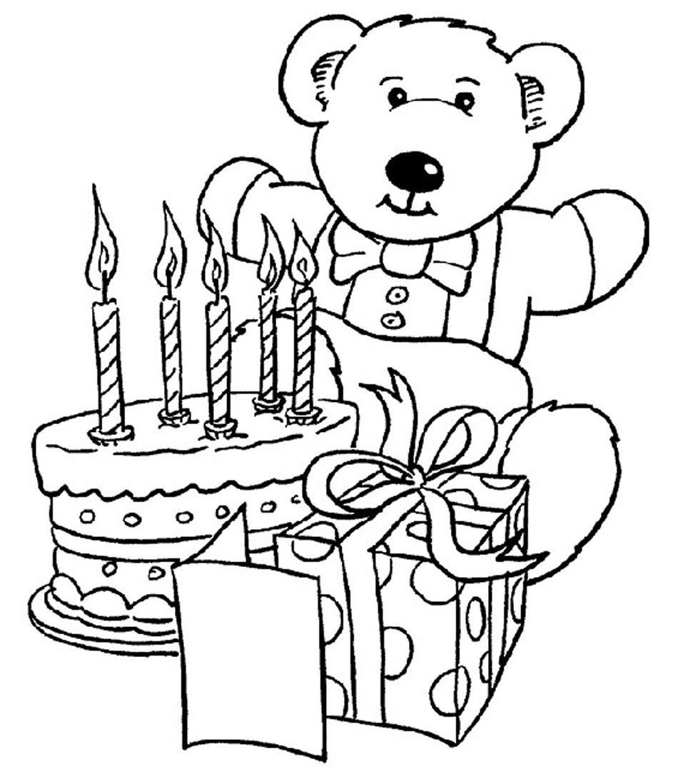 birthday coloring pages for kids ; Happy-Birthday-Coloring-Pages-Printable