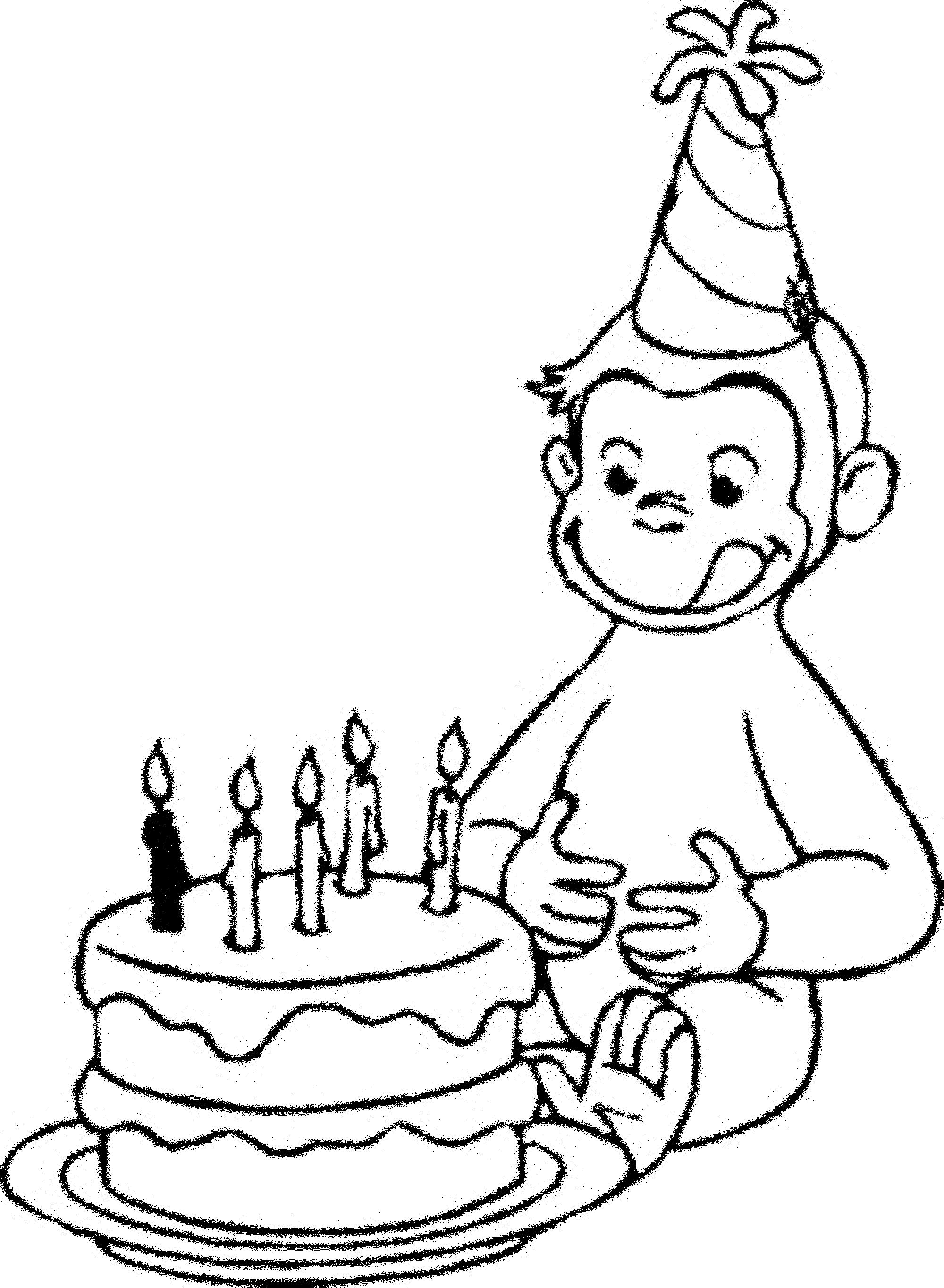 birthday coloring pages to print ; Happy-Birthday-Coloring-Pages-for-Boys