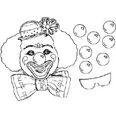 birthday coloring pages to print ; Party_mask