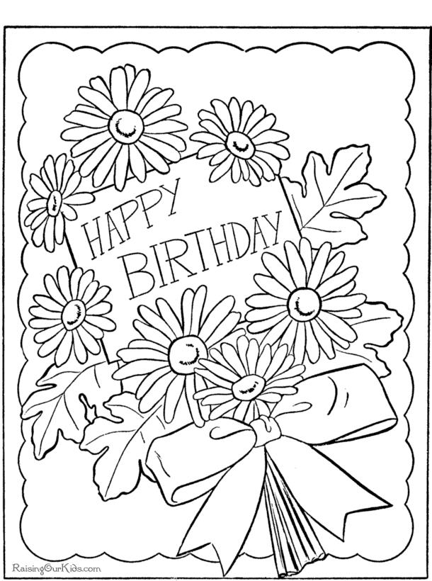 birthday coloring pages to print ; Stunning-Happy-Birthday-Coloring-Page-93-About-Remodel-Download-Coloring-Pages-with-Happy-Birthday-Coloring-Page