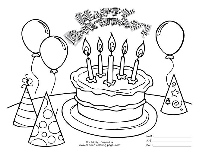 birthday coloring printables ; free-coloring-pages-birthday-perfect-free-birthday-coloring-pages-13-in-coloring-site-with-free-funny