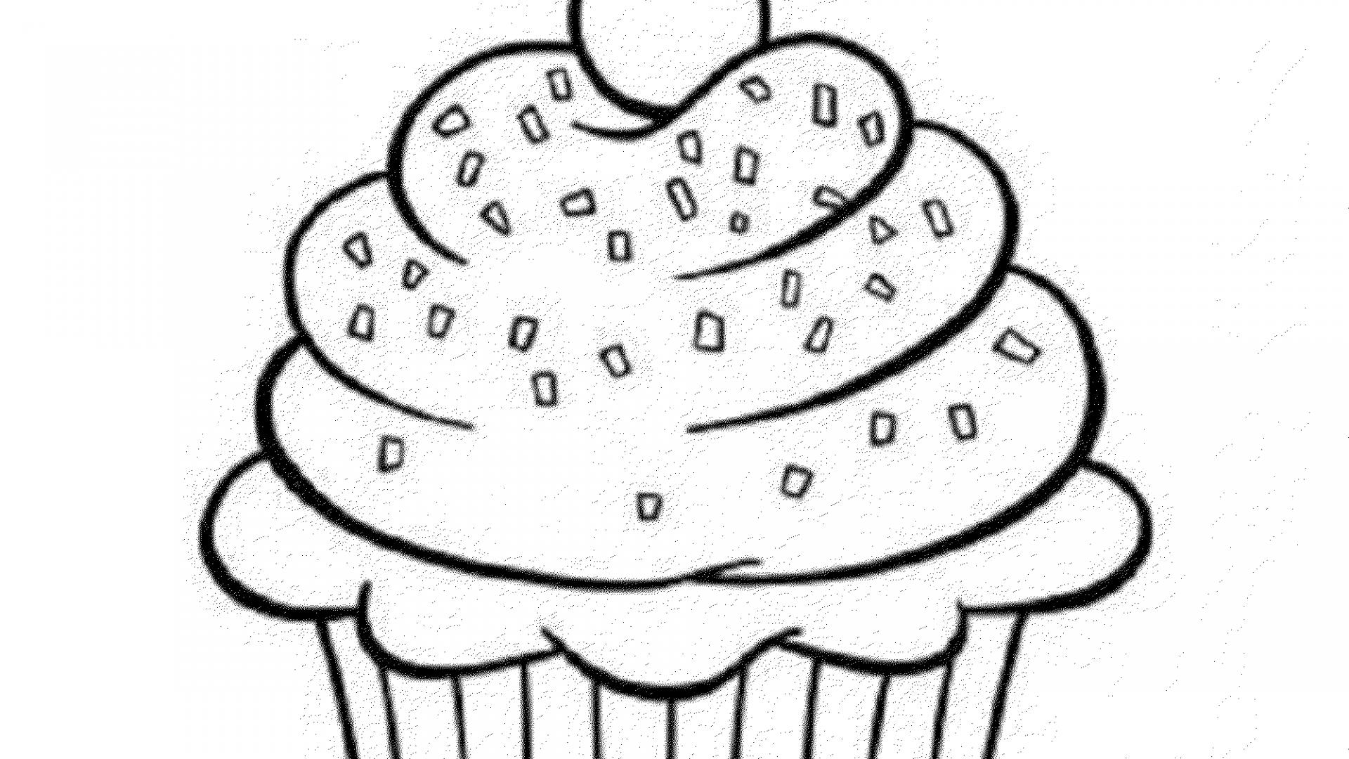 birthday cupcake coloring page ; cupcake-coloring-pages-color-food-1920x1080
