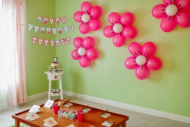 birthday decoration pictures image ; Simple-Birthday-Decorations-2