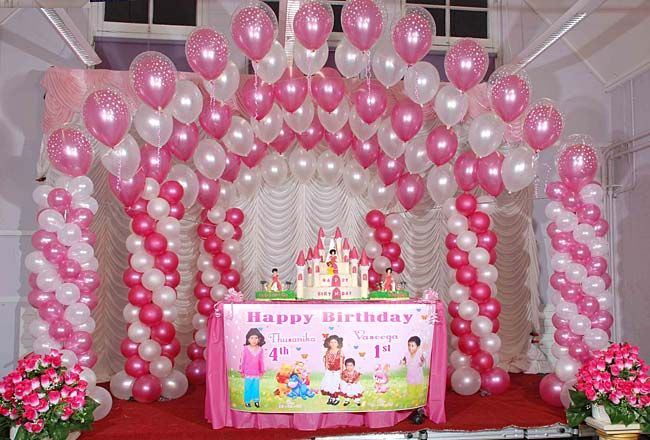 birthday decoration pictures image ; fabulous-balloons-decorations-given-minimalist-article