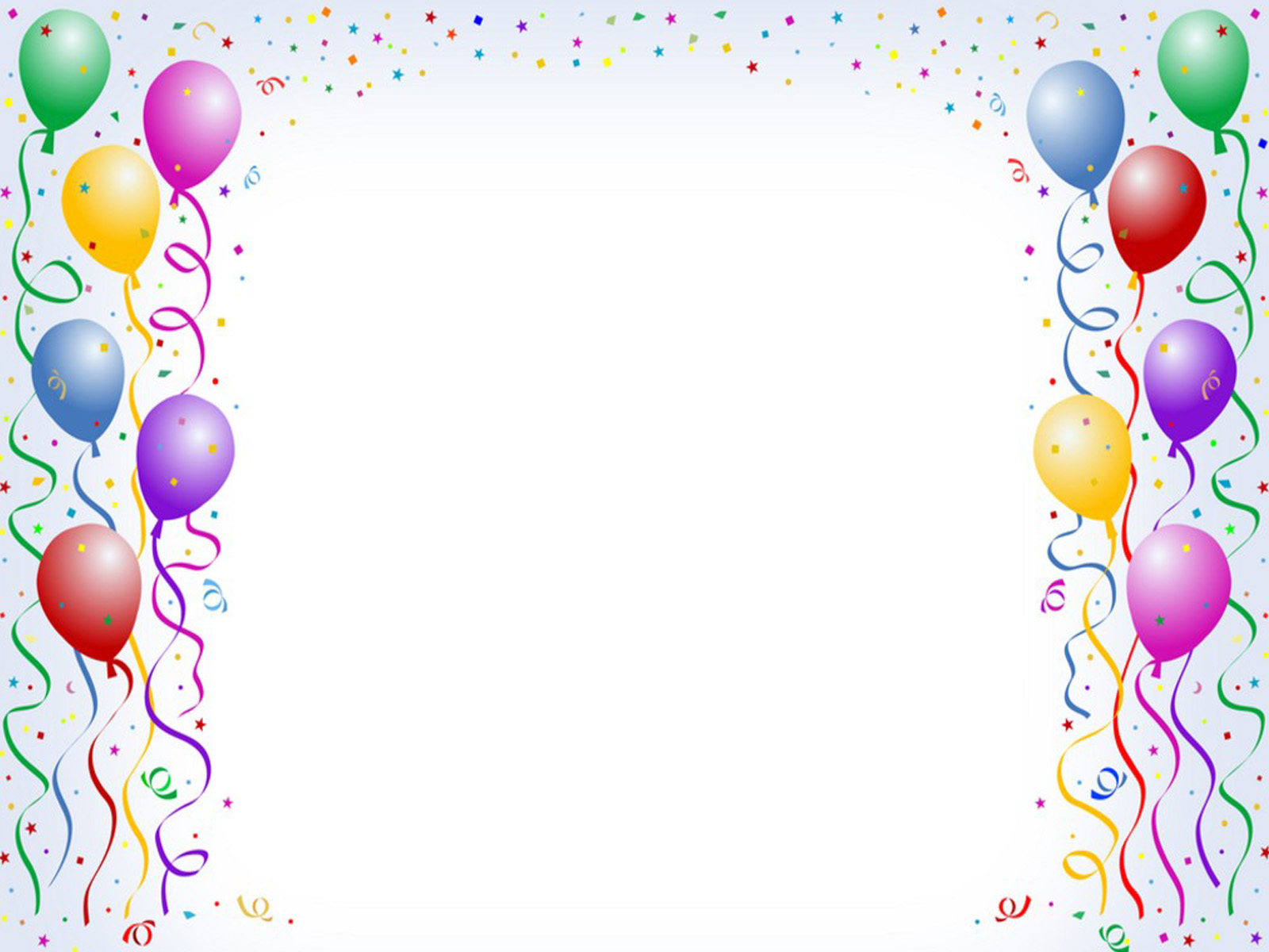 birthday decoration wallpaper ; Balloon-Background8