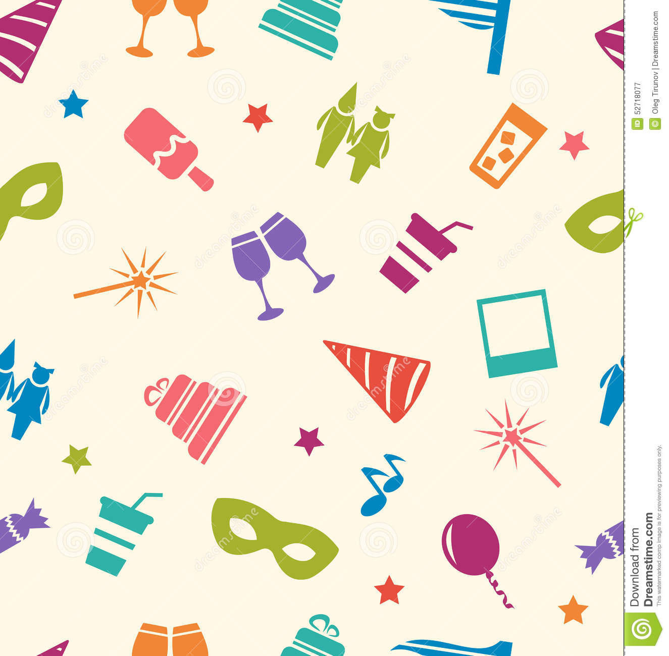 birthday decoration wallpaper ; wallpaper-clipart-party-4