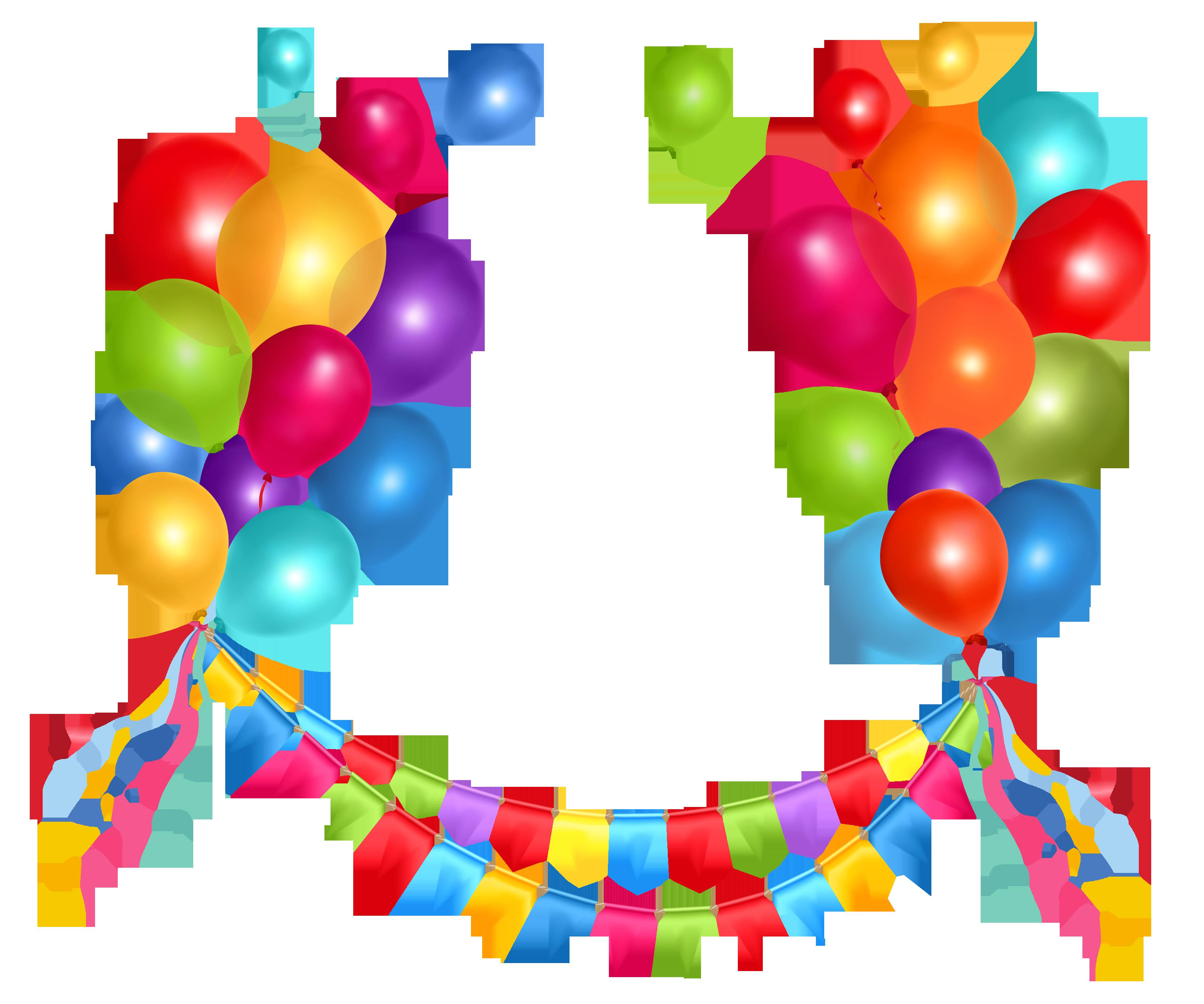 birthday decorations clipart ; birthday-streamers-clipart-11