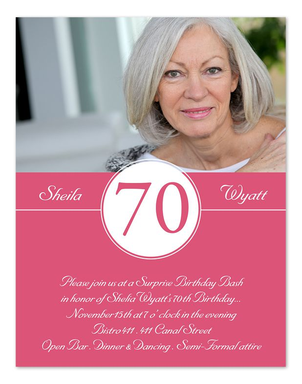 birthday design invitations ; 70th-Birthday-Invitations-Wording-With-Photo