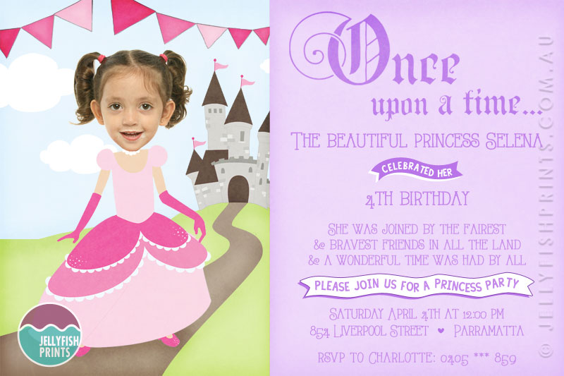 birthday design invitations ; bk252-princess-birthday-party-invitation-3
