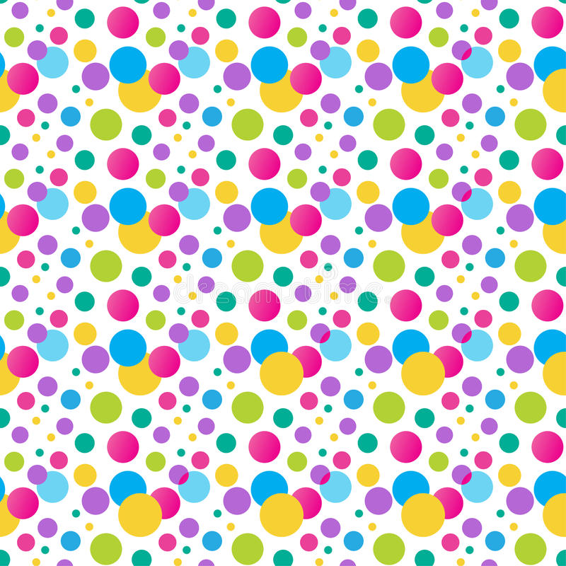 birthday design wallpaper ; seamless-variegated-polka-dot-pattern-bright-vector-birthday-design-can-be-used-wallpaper-web-textile-wrap-design-49576089