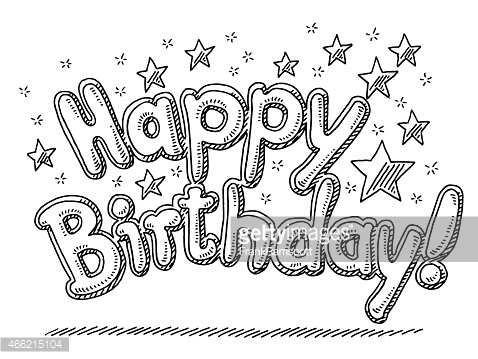 birthday drawing images ; 738cec206fabb55df52af25dd9dfcc90