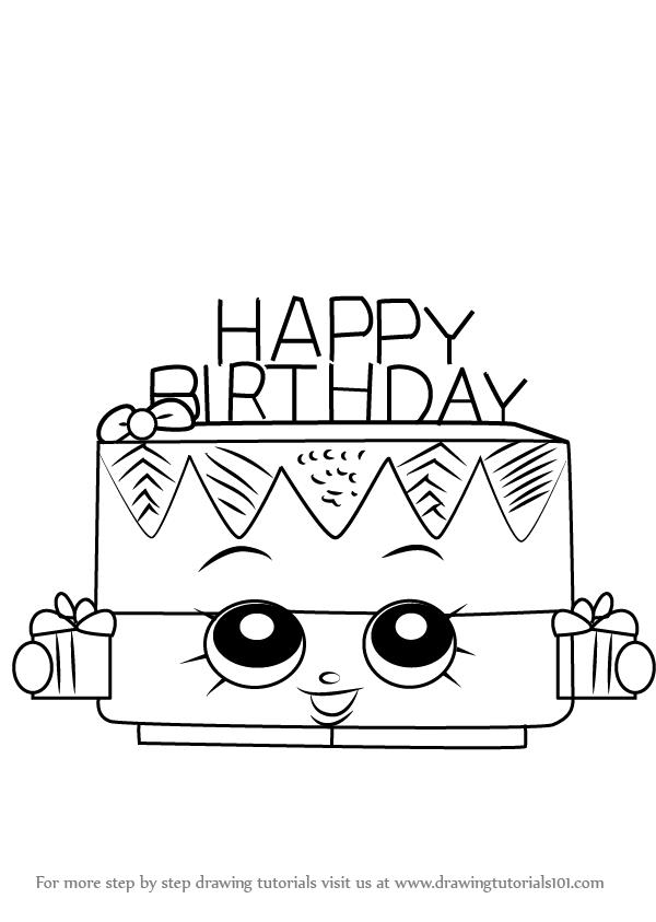 birthday drawings ; how-to-draw-Birthday-Betty-from-Shopkins-step-0