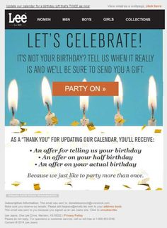 birthday email sign up ; 7785dd0788fa055f45bd2f8b18f0525e--birthday-email-birthday-signs