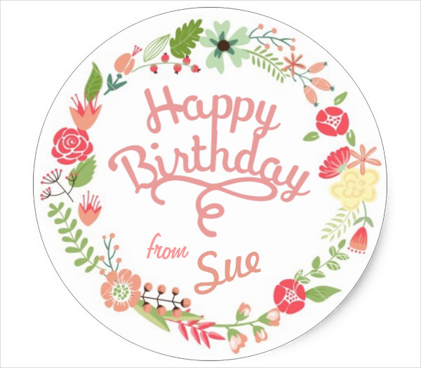 birthday favor tags template ; Customized-Birthday-Gift-Tag
