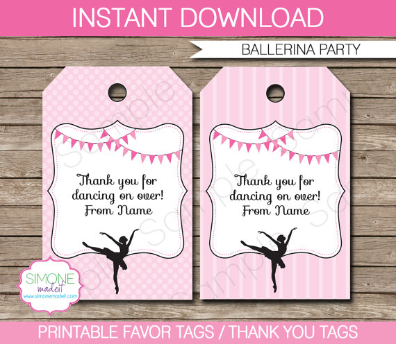 birthday favor tags template ; il_570xN