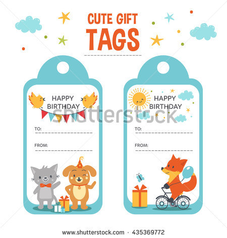 birthday favor tags template ; stock-photo-cute-gift-tags-templates-birthday-gift-tags-with-text-place-and-cute-animals-435369772