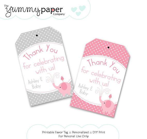 birthday favor tags template free ; 77079dbcee5d605213b0507062c5f8ae