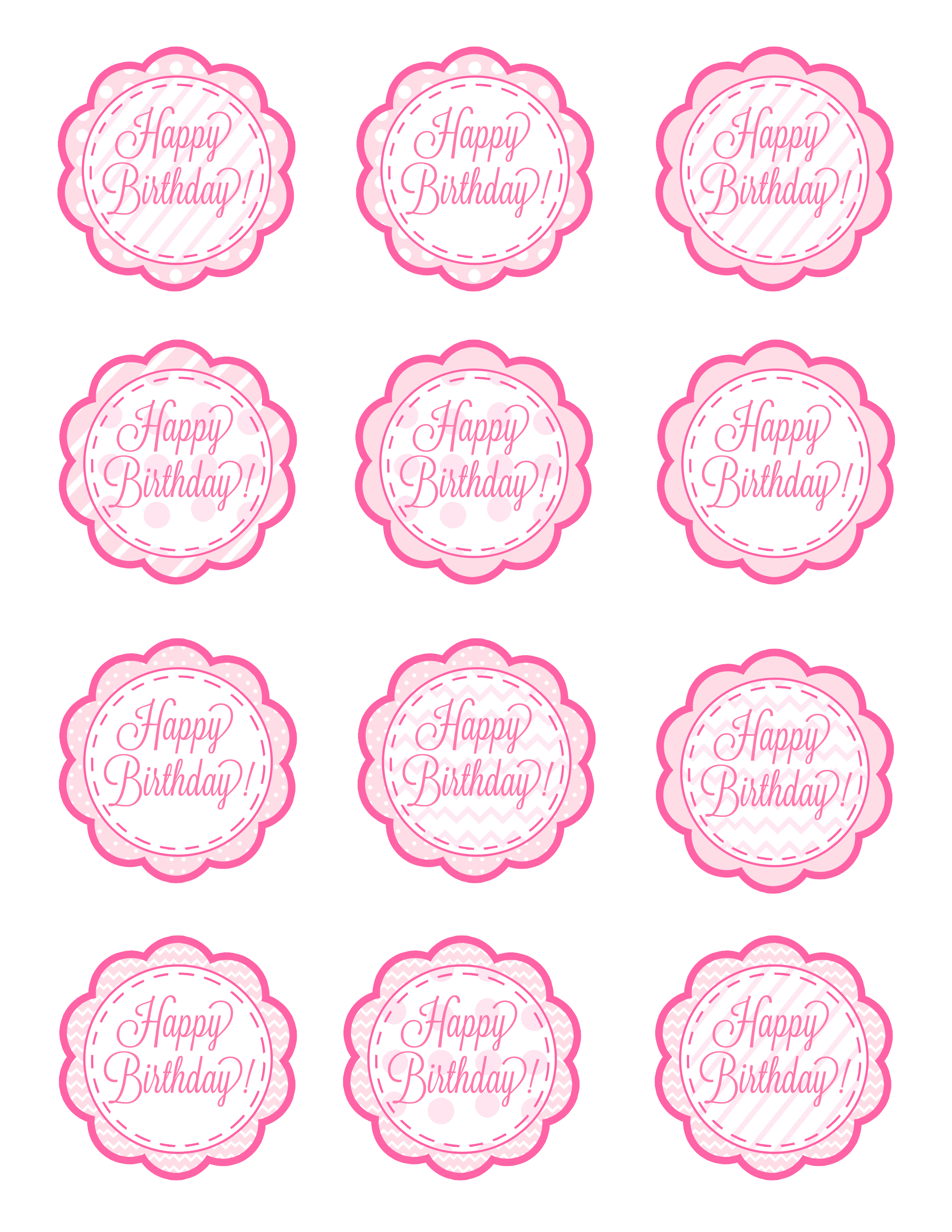 birthday favor tags template free ; free-printable-cupcake-toppers-girl_111000