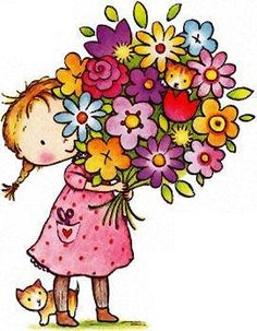 birthday flowers clipart ; 1675922