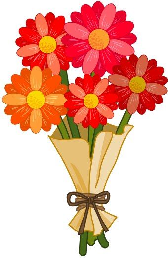 birthday flowers clipart ; 1675948
