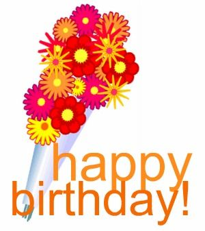 birthday flowers clipart ; happy-anniversary-with-flowers-clipart-1