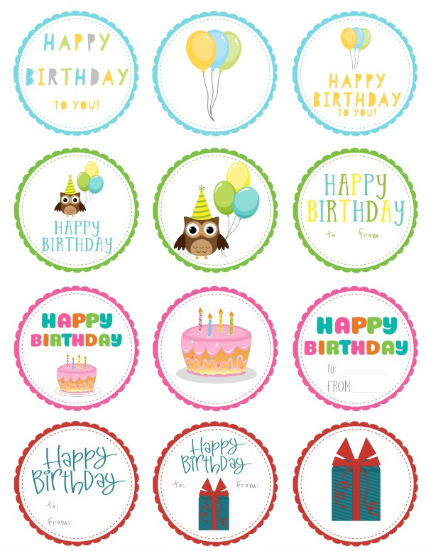 birthday gift labels ; Free-Printable-Birthday-Gift-Tags-Download