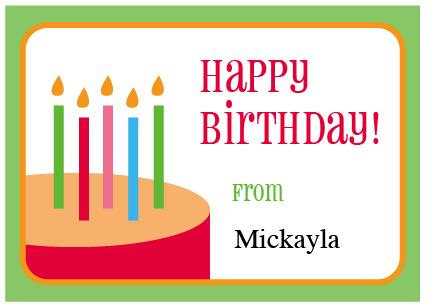 birthday gift labels ; Picture-108