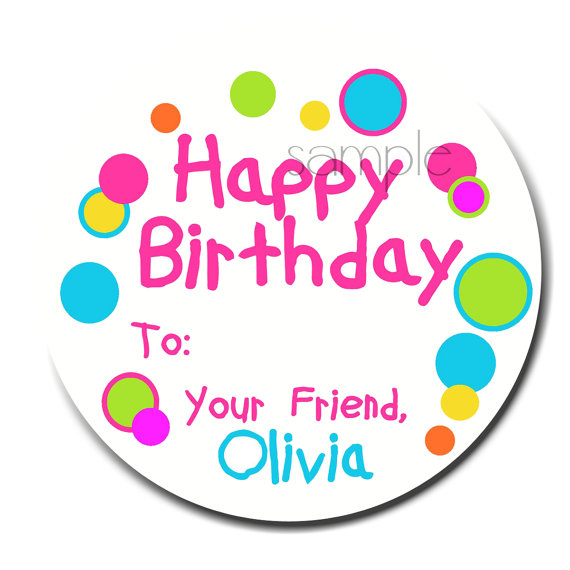 birthday gift stickers labels ; il_570xN