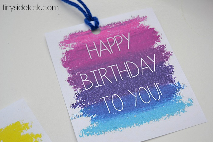 birthday gift stickers labels ; printable-birthday-gift-tags-5