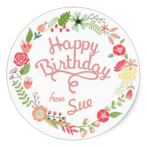 birthday gift tag stickers ; 3-8cm-Custom-Birthday-Gift-Tag-Stickers