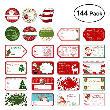 birthday gift tag stickers ; 81Wb1UycdTL