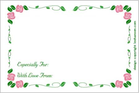 birthday gift tag template ; mom-rose-garland-coupon