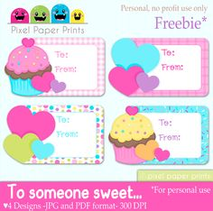 Birthday Gift Tag Template For Word E0b1f7c3d26c49a593e1e38500379418 Cupcake Valentine