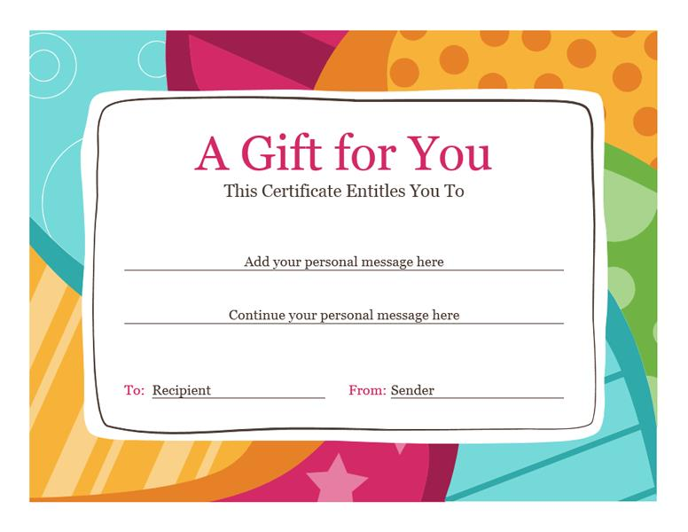 birthday gift tag template for word ; lt04009725