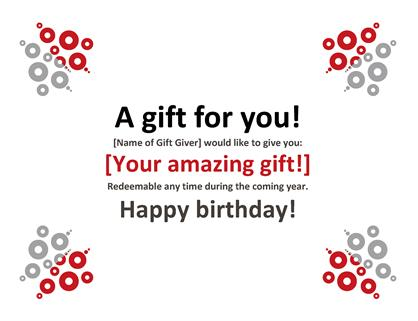 birthday gift tag template for word ; lw00002076
