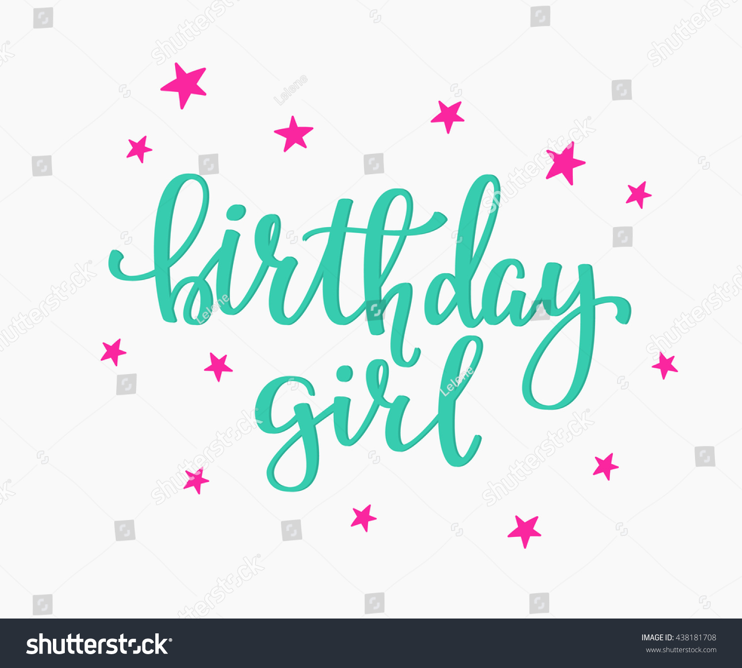 birthday girl sign ; avopix-438181708