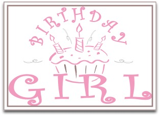 birthday girl sign ; zTX5MaAGc
