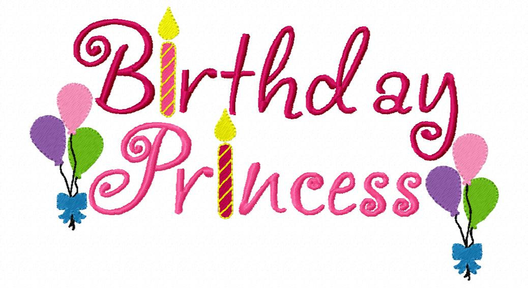 birthday girl wallpaper ; princess-birthday-girl-clipart