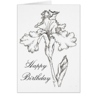 birthday greeting cards drawing ; happy_birthday_card_iris_spring_flower_drawing-rc5c40335e3b3459f9e23402a5fa57e0a_xvuat_8byvr_324
