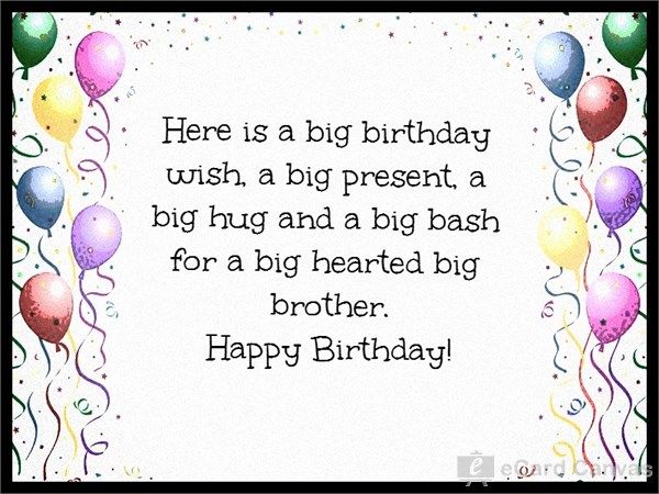 birthday greeting cards images for brother ; wkJ1
