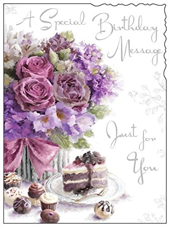 birthday greeting cards images with flowers ; 61nkmnKTYAL