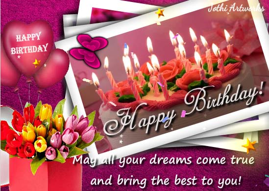 birthday greeting cards images with flowers ; 635e6107b74e0406bffdd2329c8b5aac