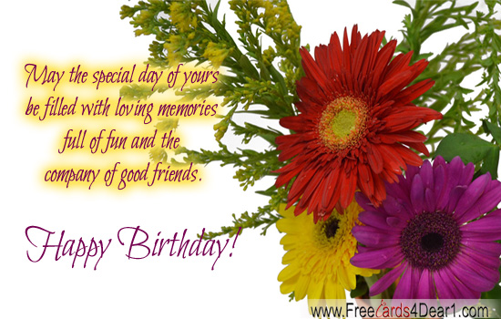 birthday greeting cards images with flowers ; birthday-greeting-card-for-friend-with-flowers