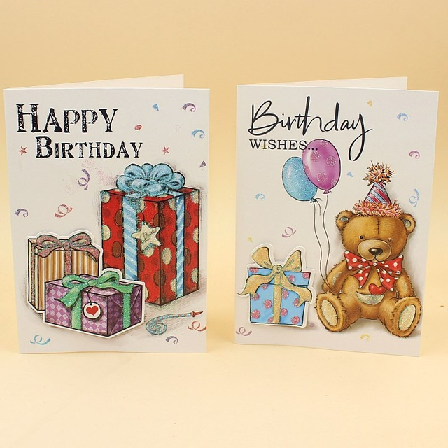birthday greeting cards with pictures in ; 20-pieces-lot-Korea-Creative-Birthday-Greeting-Card-Upscale-Folding-Paper-Gift-Card-Birthday-Cake