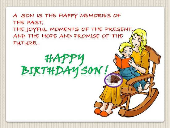 birthday greeting images for son ; 3e6424775caac044bd09bb05b9a48b54